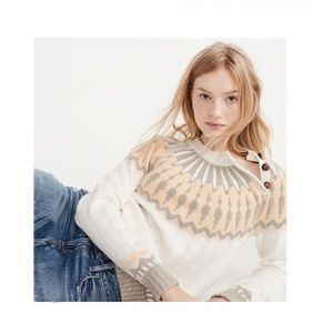 Abercrombie Button Sweater